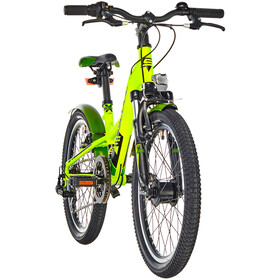 s'cool XXlite 20 7-S Alloy Kinderen, lemon matt